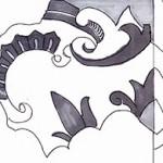 schets tegel ontwerp Portugal, atelier van vegchel