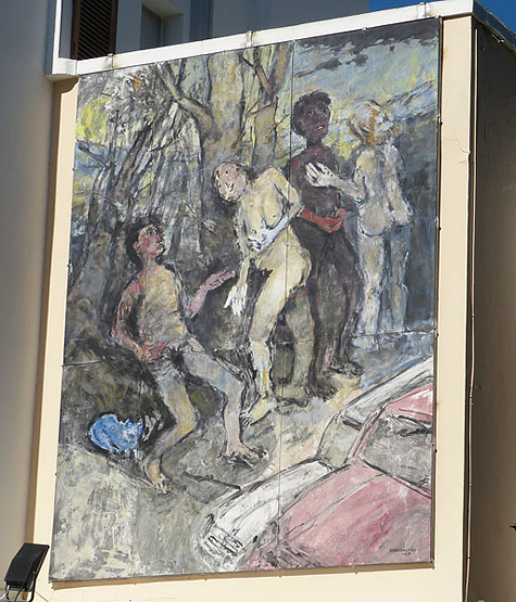 muurschildering 4a