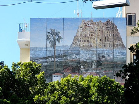 muurschildering 8a