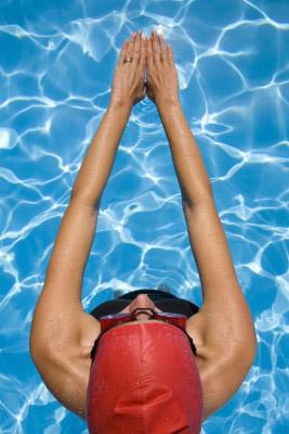 Inspiratie..., als ik aan aquarel denk, komt het woord zwemmen bij me boven