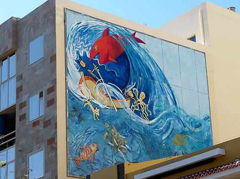 muurschildering 7a