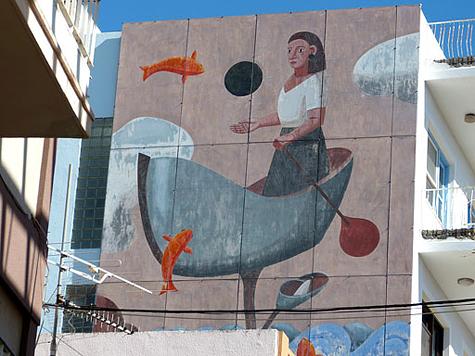 muurschildering 9a