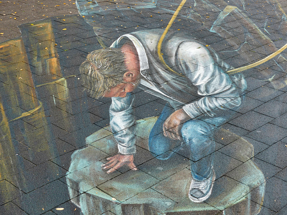 world streetpainting arnhem 2019 kunstenaar Leon Keer
