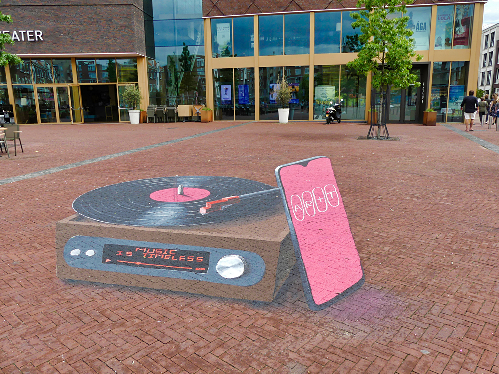 World streetpainting Arnhem 2019 kunstenaar David ter Horst